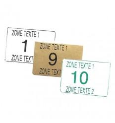 Étiquette Bar