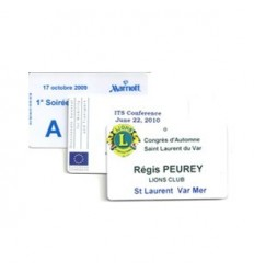 Badge Carte Visiteur