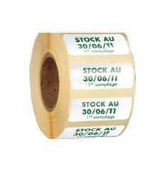 Étiquettes en Bobine Adhésives Enlevables