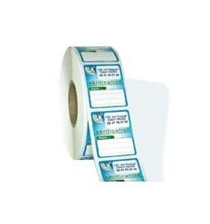 Étiquettes Bobine Synthétique Souple