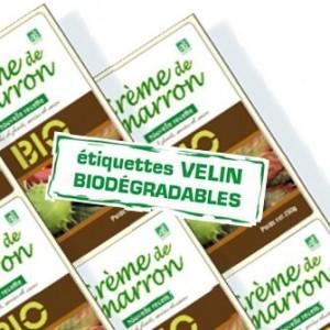 Étiquette en bobine Papier Biodégradable