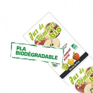 Étiquettes PLA biodégradables