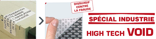 produit etiquette securite void