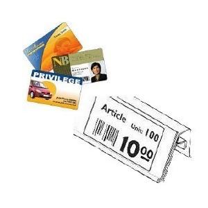 Étiquettes Planche A4 Carton - Facing