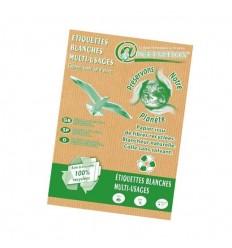 Étiquettes Planche A4 Écologiques