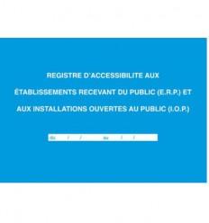 REGISTRE d'accessiblité ERP et IOP