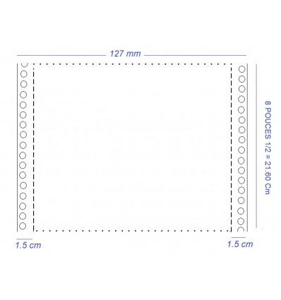 Papier Listing pour Matricielle