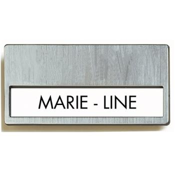 produit badge metal