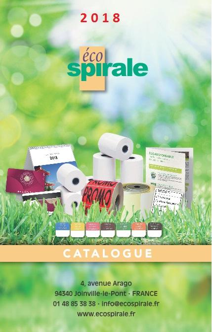 couverture catalogue ecospirale 2018