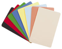 photo de carte PVC Couleur